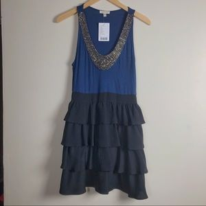 Anthropologie Dresses - Silence & Noise Jeweled Knit Dress. SZ 8